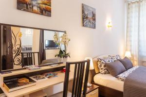 Гостиная зона в Apartment na Voznesenskom 30