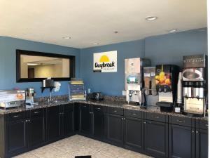 A kitchen or kitchenette at Days Inn by Wyndham Flagstaff I-40