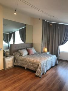 Cama o camas de una habitación en Botanico Beauty Villa del Mar