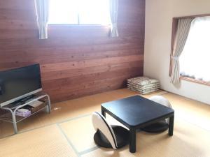 A seating area at Morino Garden Mashiko
