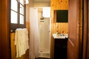 A bathroom at Forest Hill Lodging