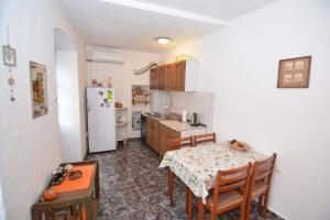 A kitchen or kitchenette at Apartment Pela