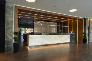 The lobby or reception area at Sheraton Novi Sad