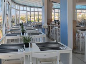 Restoran või mõni muu söögikoht majutusasutuses Laguna Park 2