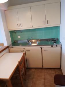 Η κουζίνα ή μικρή κουζίνα στο Apollon Suites