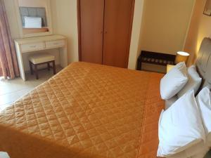 Krevet ili kreveti u jedinici u okviru objekta Mitho Hotel