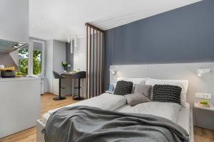 Ein Bett oder Betten in einem Zimmer der Unterkunft InCenter Apartments Rijeka