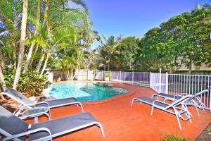 The swimming pool at or near STUNNING BEACHSIDE HOLIDAY HOME