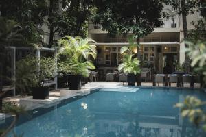 The swimming pool at or near Blue Lime Phnom Penh