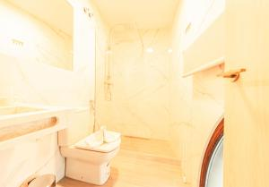 A bathroom at Atocha28