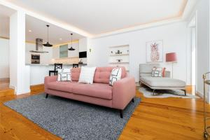 A seating area at WHome | Combro Luxury Apartment