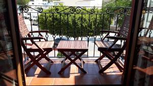 Un balcón o terraza de Hotel-Apartamento Carolina y Vanessa