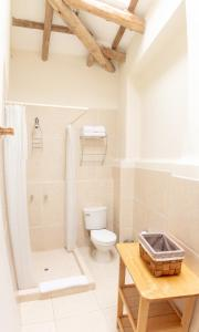 Salle de bains dans l'établissement Casa de La Chola