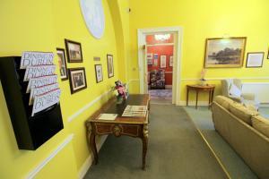 The lobby or reception area at Harrington Hall