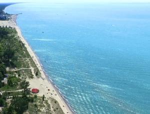 A bird's-eye view of Oakwood Resort