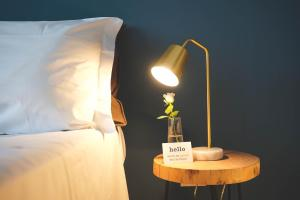 Letto o letti in una camera di Cloud House Sicily