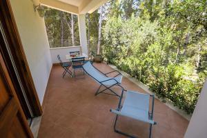 Balcone o terrazza di Casale la Macina Residence Scopello