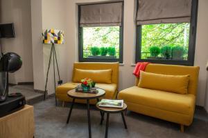 Кът за сядане в Реверанс Бутик Хотел