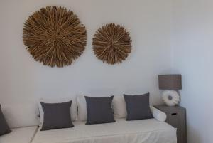 A seating area at Astarte Luxury Apartments