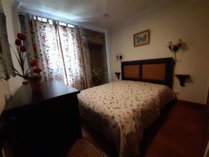 Uma cama ou camas num quarto em Casa do Cerrado