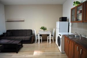 Küche/Küchenzeile in der Unterkunft Buddha Apartment