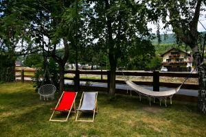 Ogród w obiekcie Rudy Lis Szczyrk