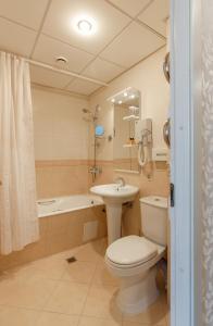 Ванная комната в Гостиница Эрмитаж Ростов-на-Дону