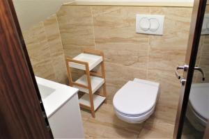 Kúpeľňa v ubytovaní Privat Kamzik