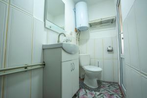 A bathroom at Eco Centr Zrub