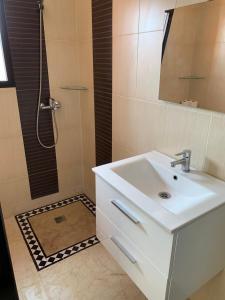 A bathroom at Victor hugo Appartement