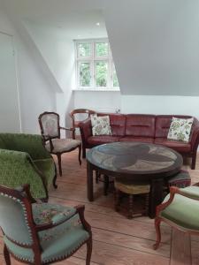 Et opholdsområde på LatterLy Apartments