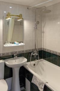 Ванная комната в Гостиница Водолей