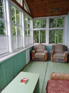 Гостиная зона в Мини-отель Отрадный