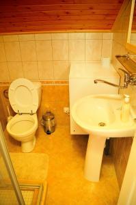 A bathroom at Penzion Kameňák