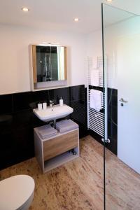 Ein Badezimmer in der Unterkunft Villa Mozart