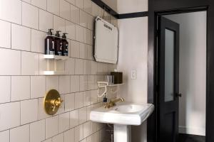 A bathroom at Ace Hotel New York
