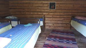Voodi või voodid majutusasutuse Ansumardi Farmstay toas