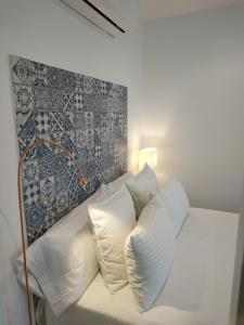 Cama o camas de una habitación en Maravilloso apartamento torre de la vela