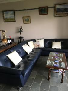 A seating area at Springmead B&B