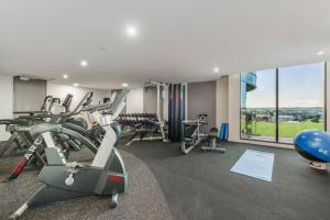 The fitness center and/or fitness facilities at Mantra Epping