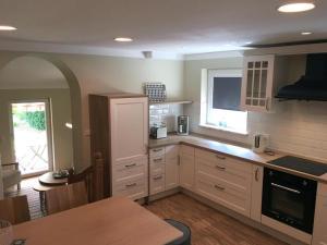 Küche/Küchenzeile in der Unterkunft Flux-Biohotel Werratal