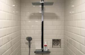 Ein Badezimmer in der Unterkunft Flux-Biohotel Werratal