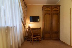 Телевизор и/или развлекательный центр в Отель Никоновка