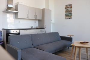 Cuisine ou kitchenette dans l'établissement Jordans Residence