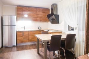 A kitchen or kitchenette at Дивный отдых