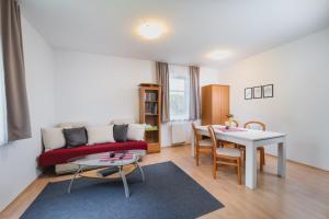 Posezení v ubytování Vila Michal