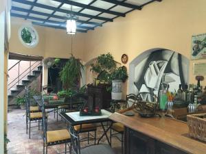 The lounge or bar area at Casa Jesus Maria 407