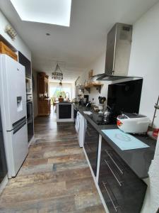 Küche/Küchenzeile in der Unterkunft Gite De Charme