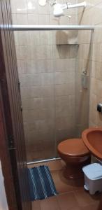 A bathroom at Quarto particular em Vitória