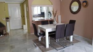Dining area at the vacation home